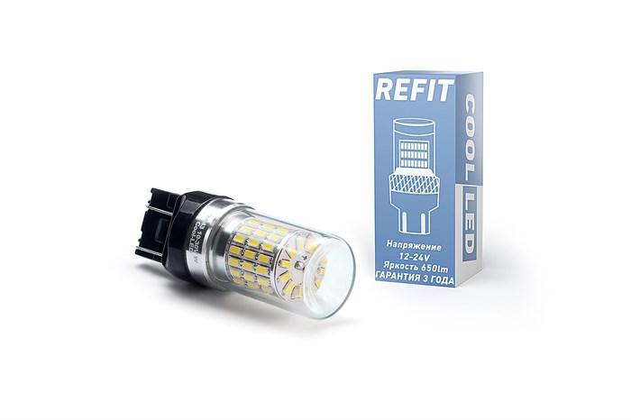 Светодиодная лампа 7440-W21W REFIT белая - фото 5782